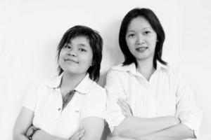 Krista Goon and Wei Vern Hor - Our Web Design team extraordinaires