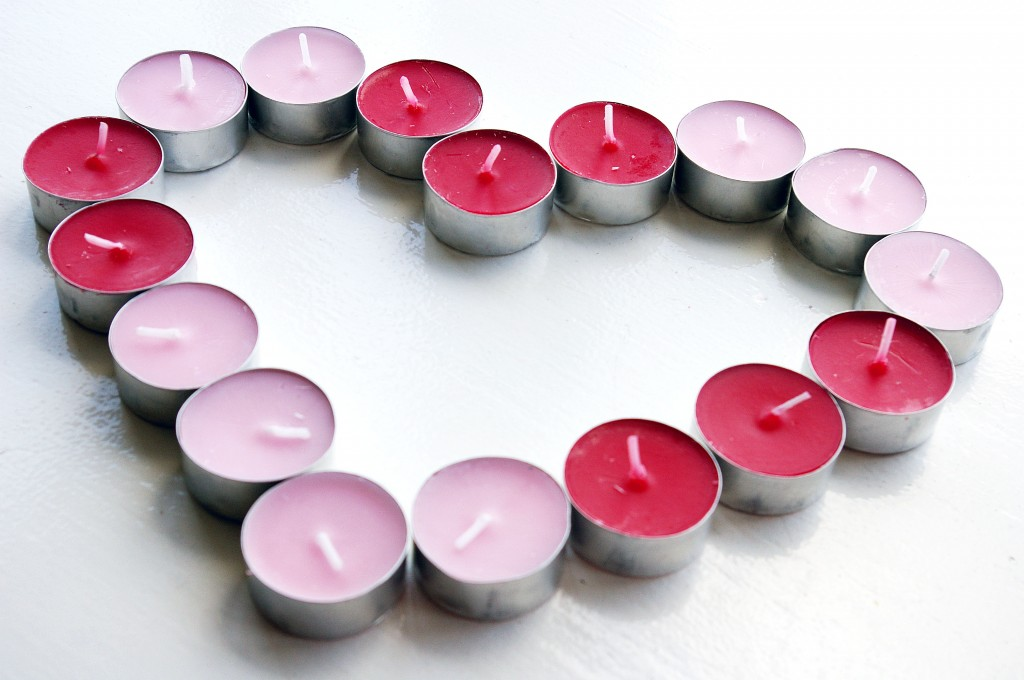 Candle Heart