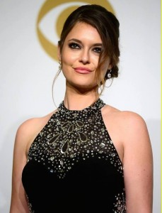 Brooke at the Grammy Awards.