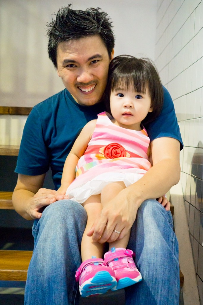 Michael Cheang and Baby Cheang